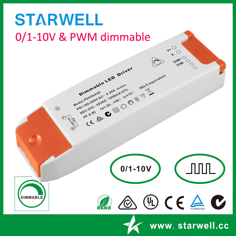 CV 0/1-10V dimmable led driver - STARWELL TECHNOLOGY CO , LTD